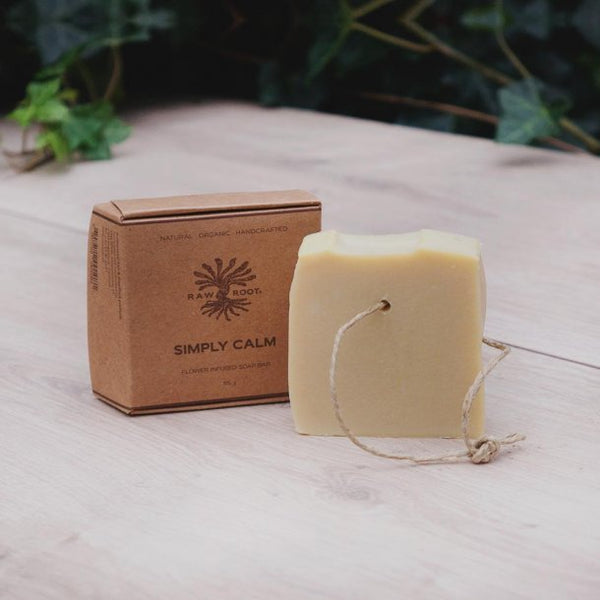 Raw Roots Shampoo Bar - Simply Calm