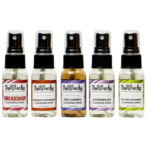 Dollylocks Cleansing Spray Samplers