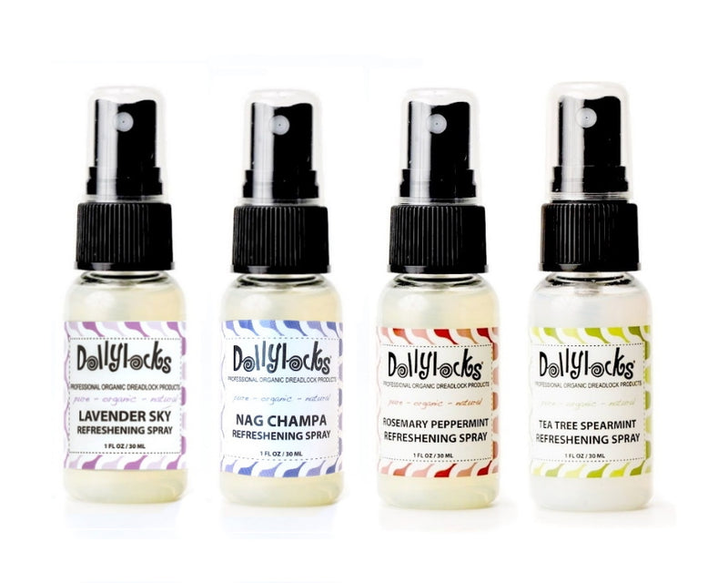 Dollylocks Refreshening Spray Sampler Set