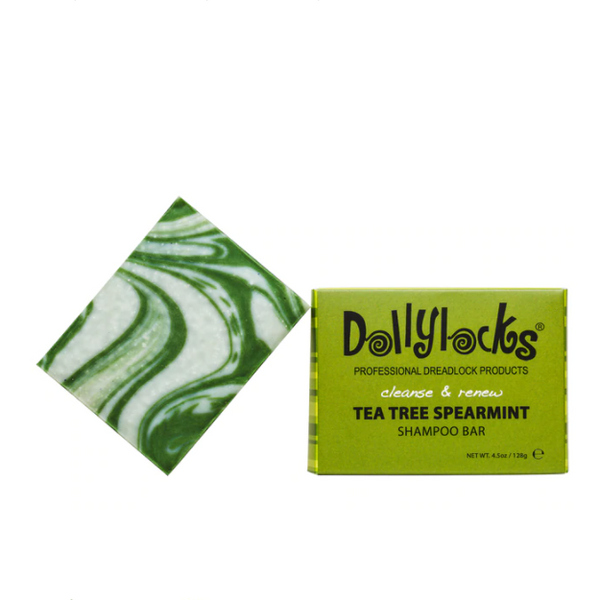 Dollylocks Shampoo Bar | Tea Tree Spearmint