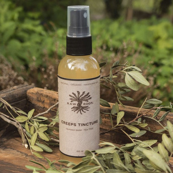 Raw Roots Creeps Tincture for Head Lice