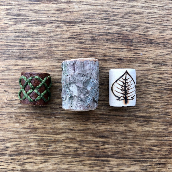 Handmade Dreadlock Beads | Set Of 3