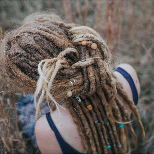 Silk Thread | DIY Dread Wrap