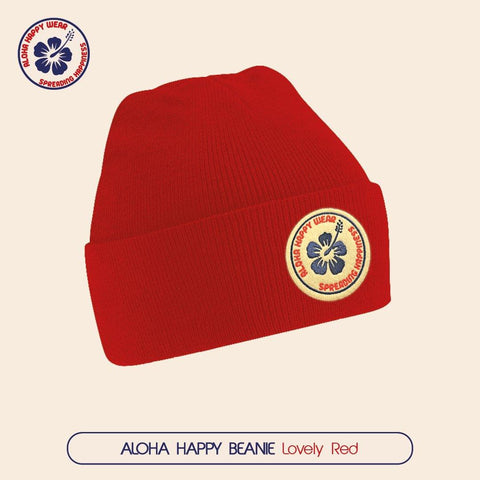 Aloha Happy Beanie - 7 Colours - Aloha Happy Wear