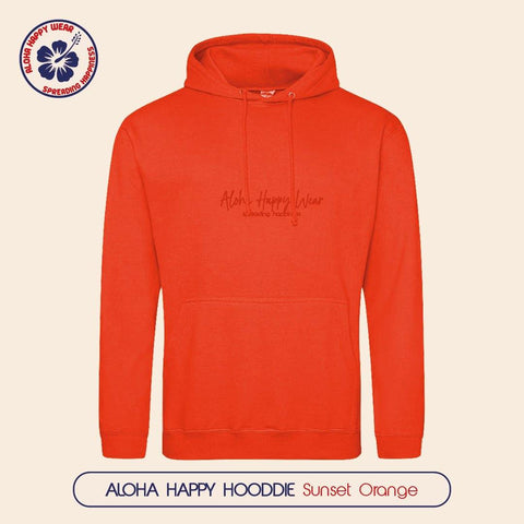 Aloha Happy Hoodies - Unisex - 4 colours - Aloha Happy Wear
