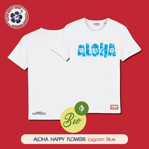 Aloha Happy Flowers - Unisex - 11 colours - Aloha Happy Wear