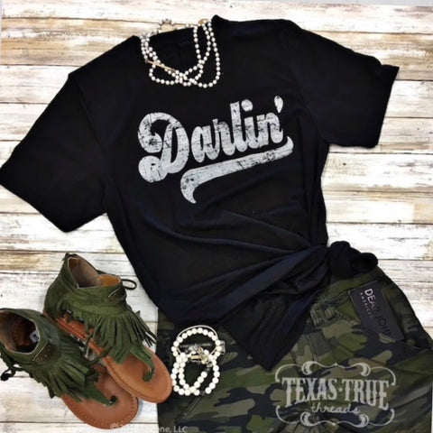 Darlin' Tee - Bar L Boutique