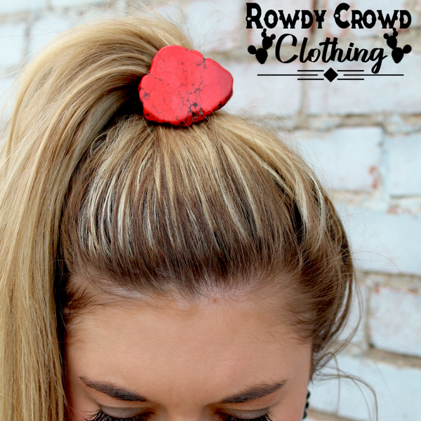 Red Rock Ponytail - Bar L Boutique