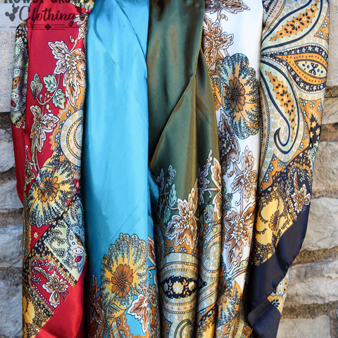 Wagon Wheel Wild Rags - Bar L Boutique