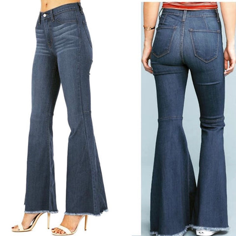 Judy Blue High Waist Flare Bells Jeans - Bar L Boutique