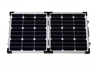 60W Foldable high efficiency solar panel kit