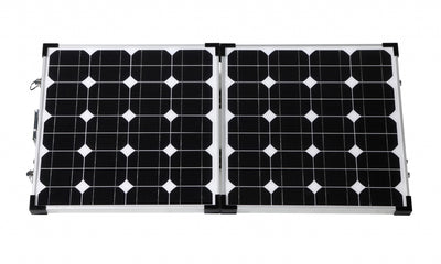 90W Foldable high efficiency solar panel kit
