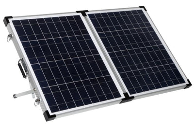 100W Poly Foldable high efficiency solar panel kit