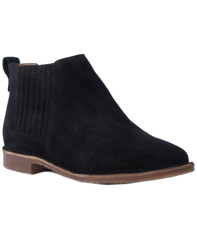 Seychelles Black Pool Suede