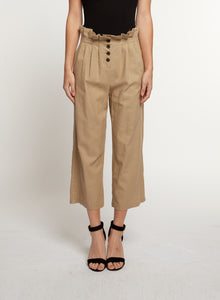 Wide Leg Pant With Pleats