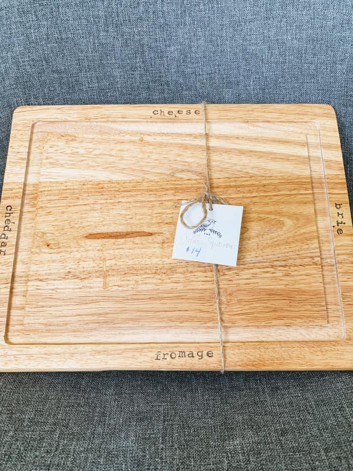 Wood Cheese Cutting Board