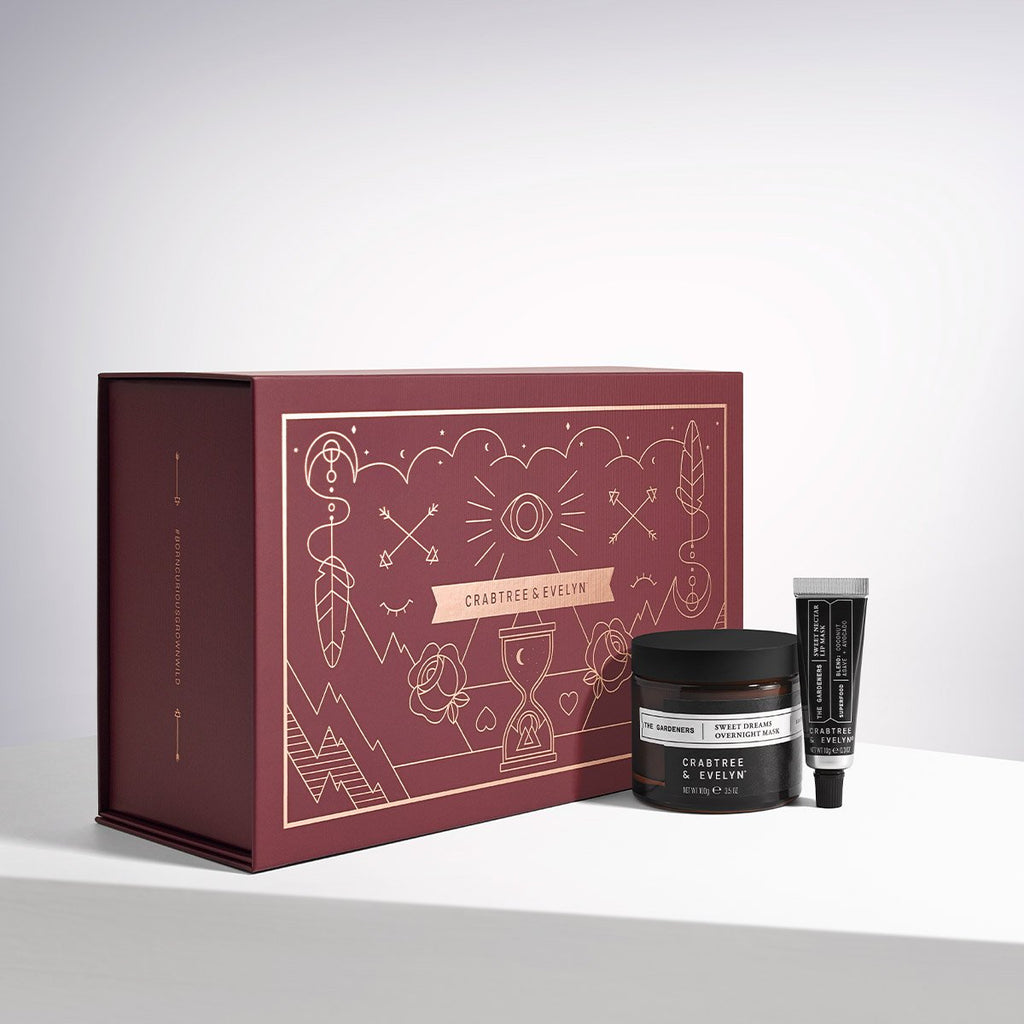 The Gardeners Nighttime Nourishment Skincare Set