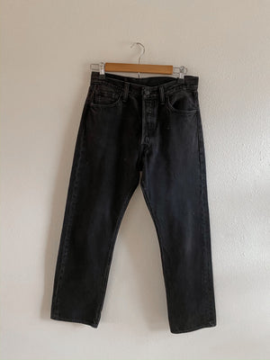 Black Denim Levi's