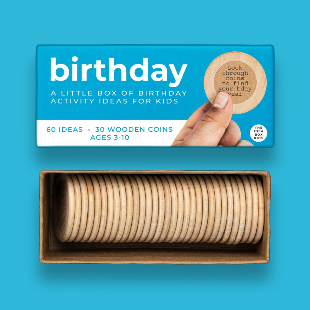 Birthday Activities Idea Box