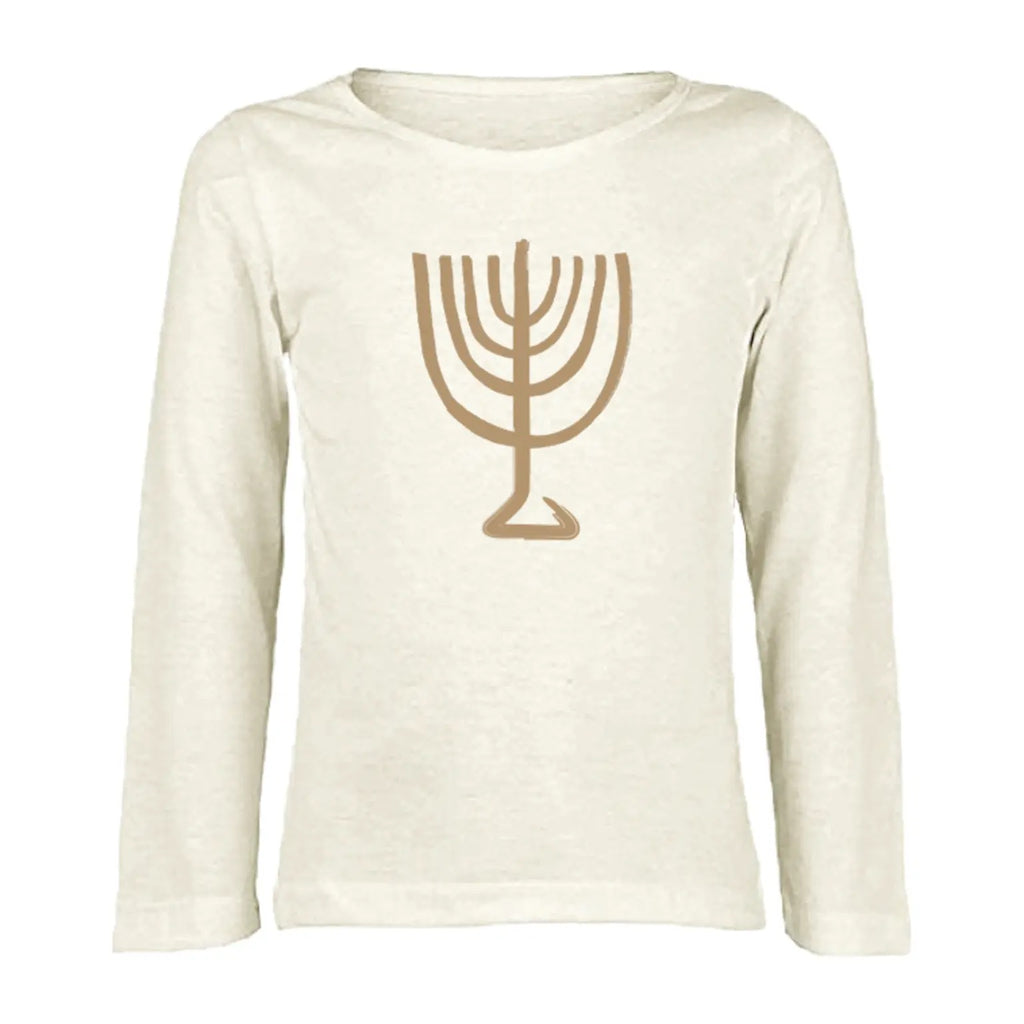 Menorah Long Sleeve Tee