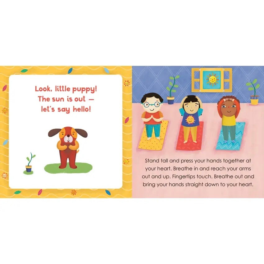Yoga Tots: Strong Puppy Book