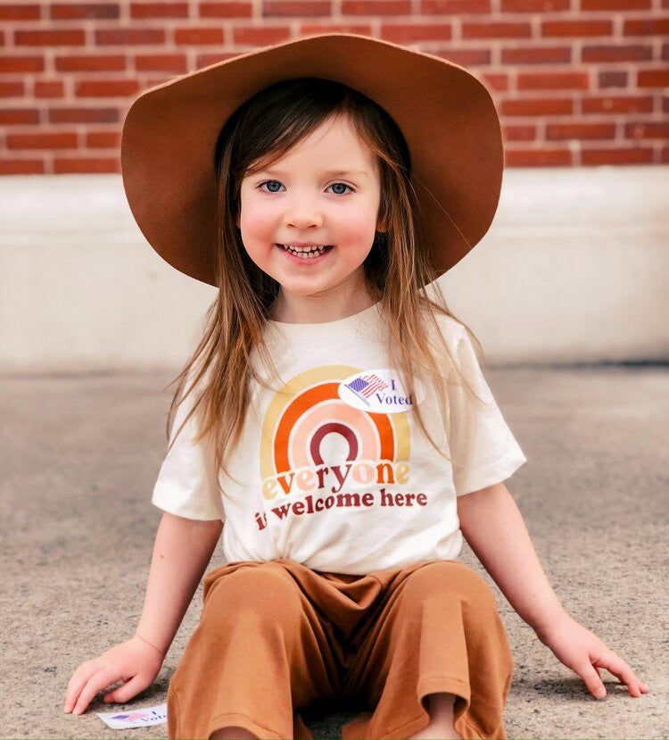 Everyone is Welcome Here Toddler Tee