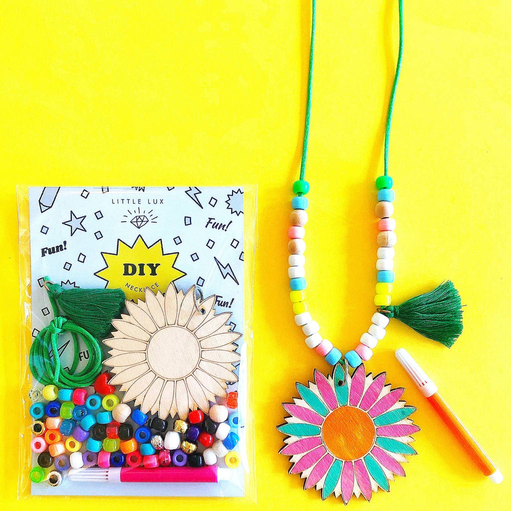DIY Flower Necklace Kit