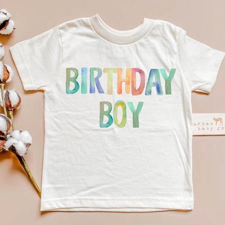 organic cotton birthday clothes for baby and toddler