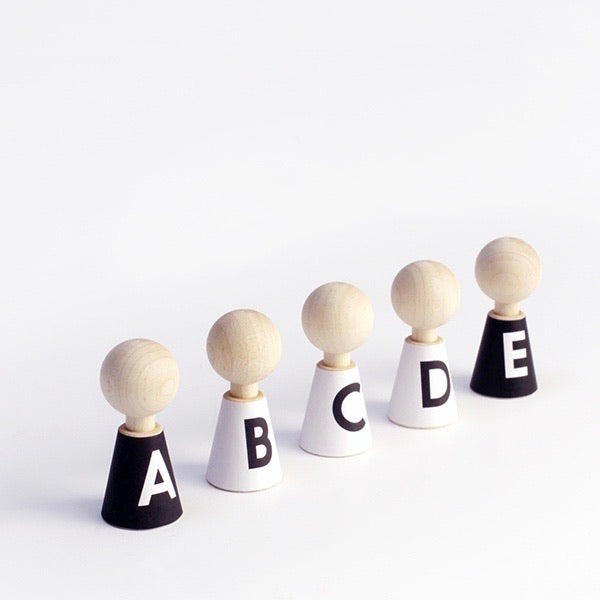 Pebble Peg Dolls