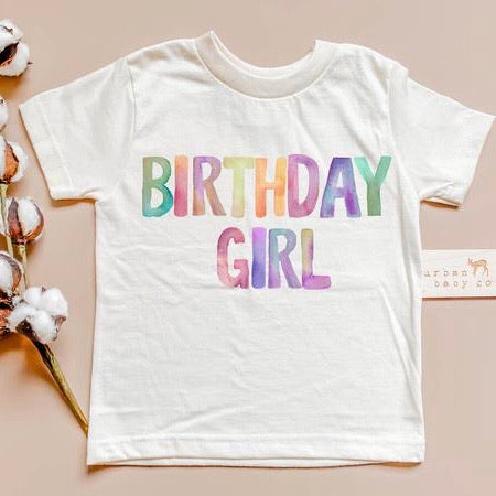 organic cotton birthday girl clothes