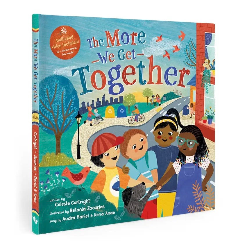 The More We Get Together Book with CDEX