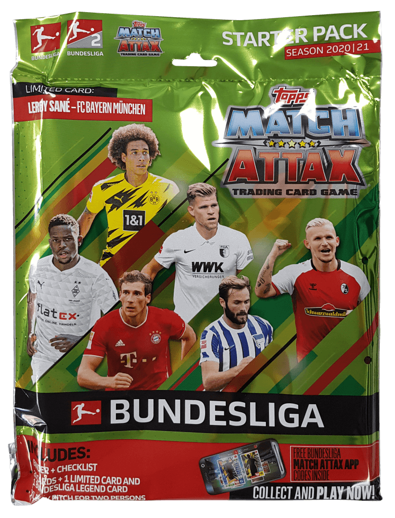 MATCH ATTAX Bundesliga 2020/2021 Starter Pack