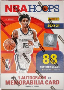 2020-21 Panini NBA HOOPS Blaster Box