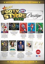 Load image into Gallery viewer, Pre Order: Footy Stars S1\Prestige 2021 2 Box Bundle plus a Footy Stars Album- release date May 10th