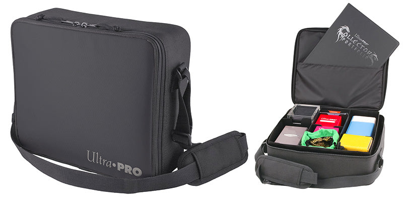 Ultra Pro Deluxe Gaming Case with Black Trim