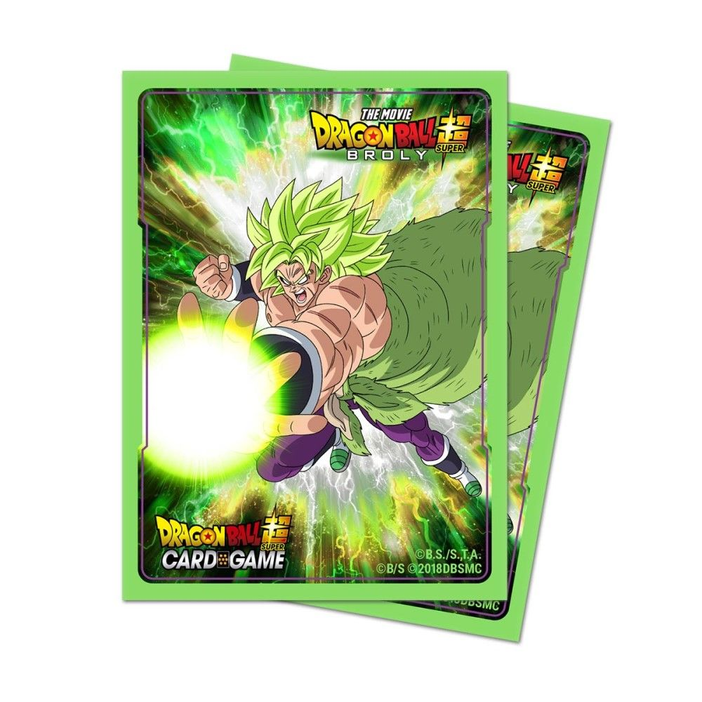Dragon Ball Super Standard Deck Protector 65ct Broly