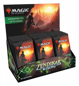 MTG: Zendikar Rising Set Booster Packs sng pk