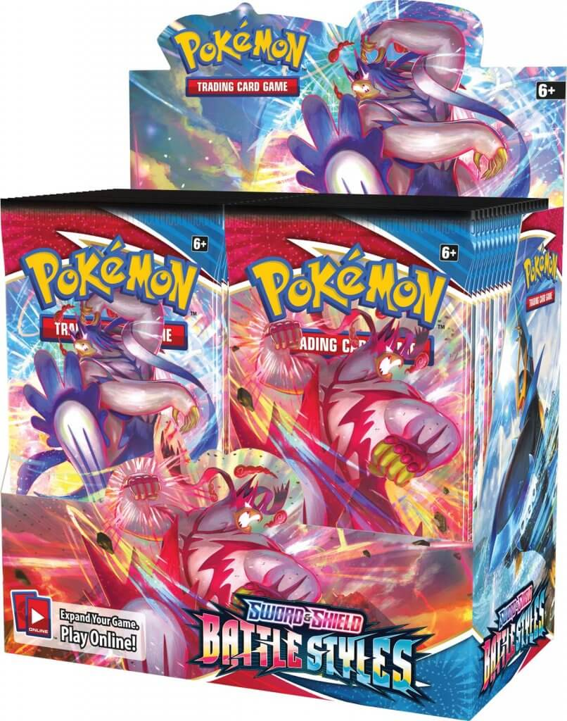Pre Sale: POKÉMON TCG Sword and Shield - Battle Styles Booster Box- Releases March