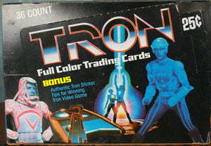 RETRO- 1982 Donruss Tron Trading Cards sng pk