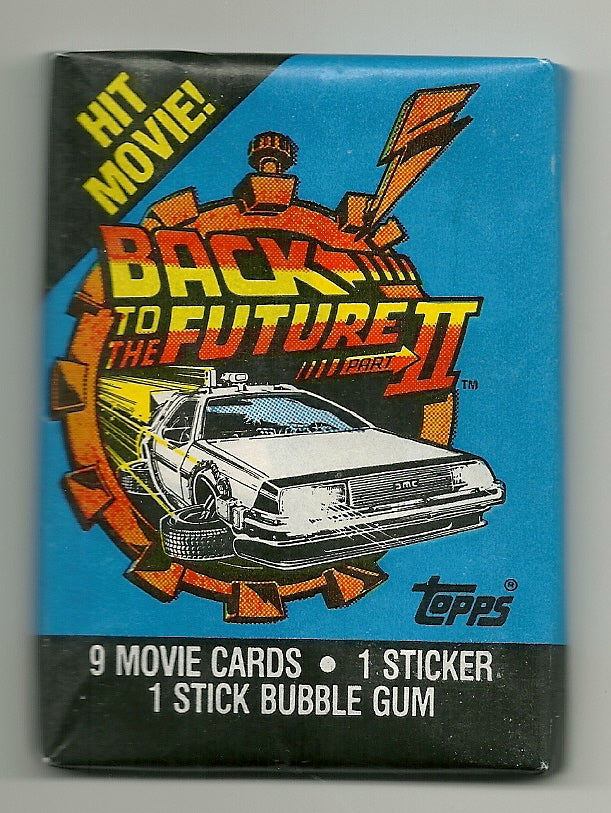 RETRO -1989 Topps Back to the future part 2