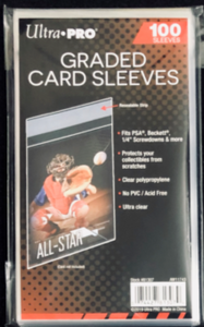 Ultra Pro Graded Card Sleeves for PSA or BGS