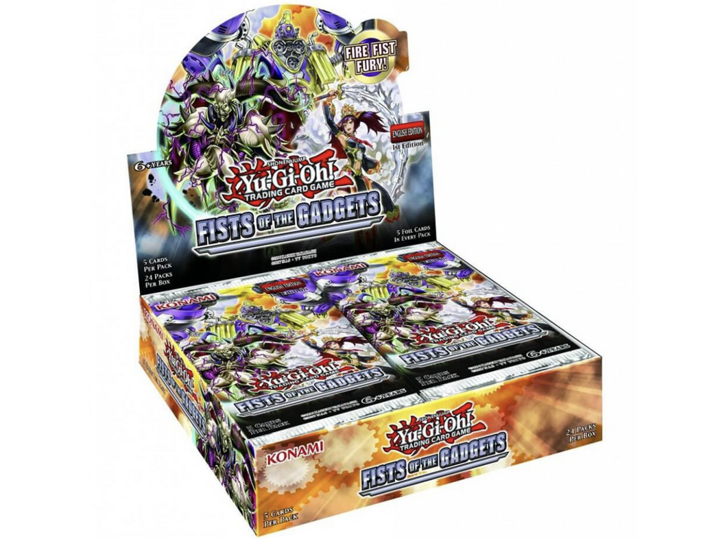 YU-GI-OH! TCG: Fists of the Gadgets sng pk