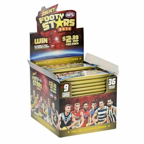 2020 AFL Select Footy Stars Sealed Hobby Box
