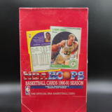 1990-91 NBA HOOPS Series 2 Hobby Sng Pk