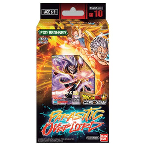Dragon Ball Super Card Game Series 8 Starter DISPLAY 10 Malicious Machinations Parasitic Overlord