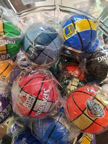NBA Team Logo Key Chains
