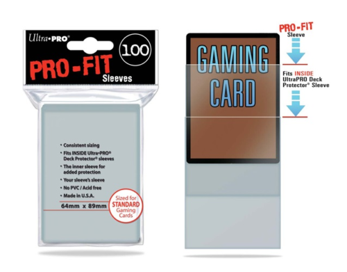 Ultra Pro Pro-fit Sleeves