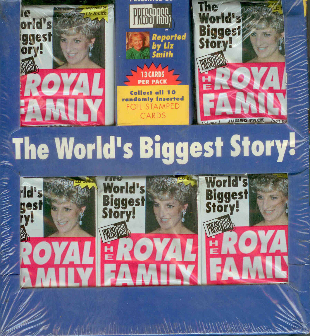 RETRO - 1993 Press Pass The Royal Family