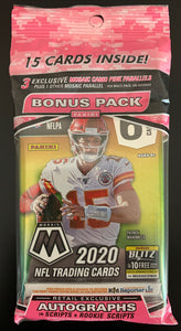 2020 Mosaic NFL Cello Pack