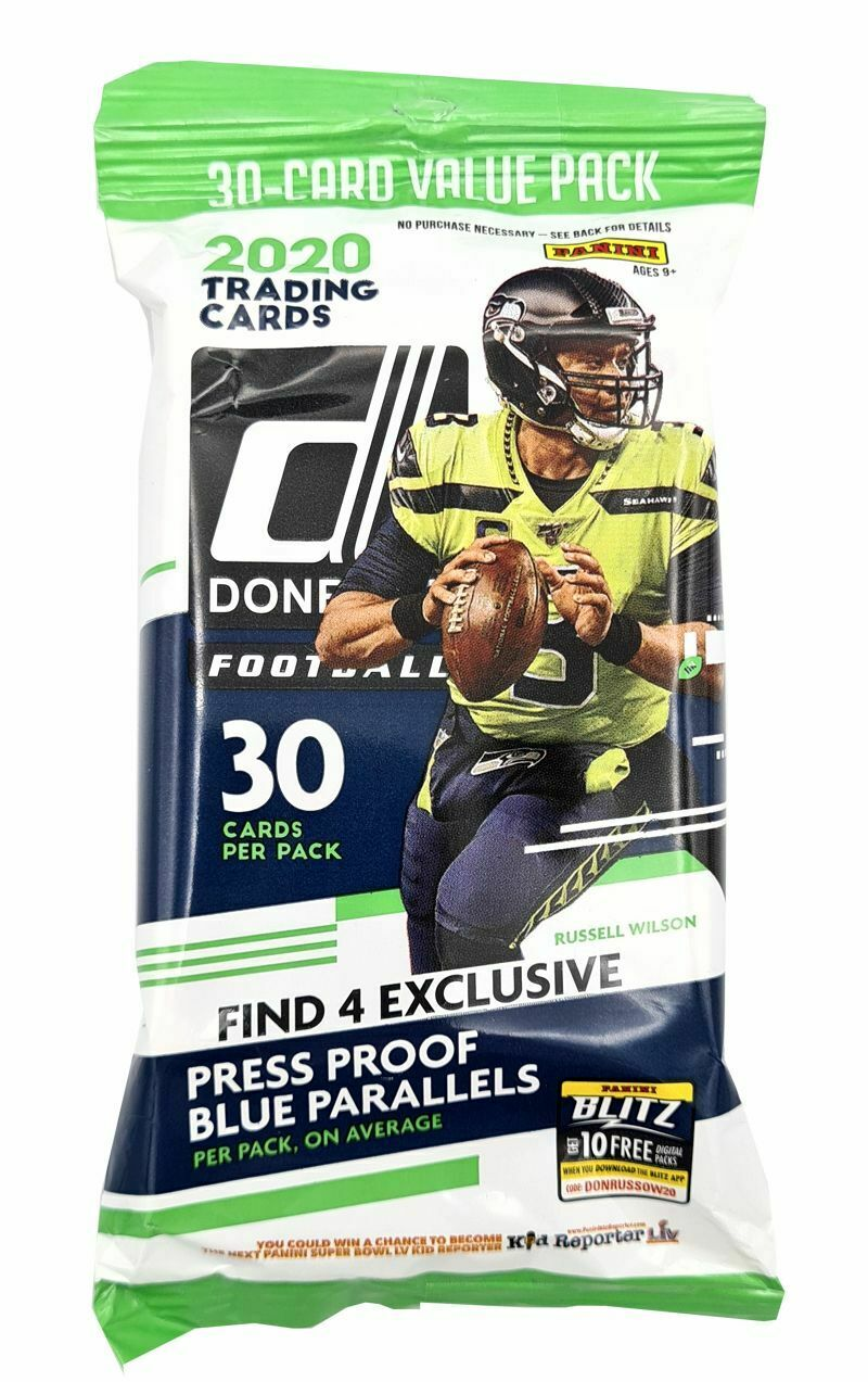Lock Down Special: 2020 Donruss NFL Fat Pack